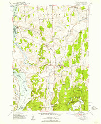 Download a high-resolution, GPS-compatible USGS topo map for Orwell, VT (1957 edition)