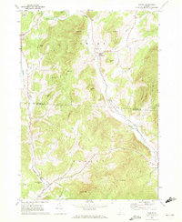 Download a high-resolution, GPS-compatible USGS topo map for Pawlet, VT (1972 edition)