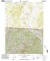 Download a high-resolution, GPS-compatible USGS topo map for Pawlet, VT (2000 edition)