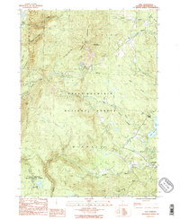 Download a high-resolution, GPS-compatible USGS topo map for Peru, VT (1987 edition)