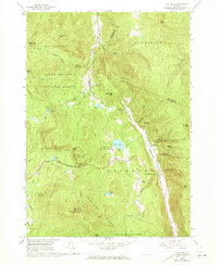 Download a high-resolution, GPS-compatible USGS topo map for Pico Peak, VT (1973 edition)