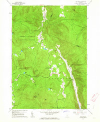 Download a high-resolution, GPS-compatible USGS topo map for Pico Peak, VT (1964 edition)