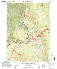 Download a high-resolution, GPS-compatible USGS topo map for Pico Peak, VT (2000 edition)