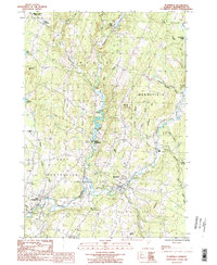 Download a high-resolution, GPS-compatible USGS topo map for Plainfield, VT (1987 edition)