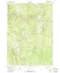 Download a high-resolution, GPS-compatible USGS topo map for Plymouth, VT (1989 edition)
