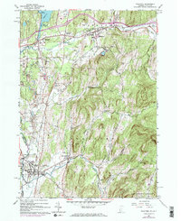 Download a high-resolution, GPS-compatible USGS topo map for Poultney, VT (1973 edition)