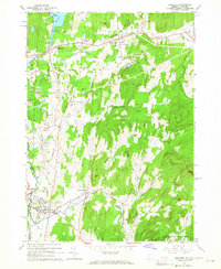 Download a high-resolution, GPS-compatible USGS topo map for Poultney, VT (1965 edition)