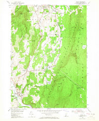 Download a high-resolution, GPS-compatible USGS topo map for Pownal, VT (1965 edition)