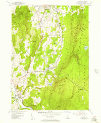 Download a high-resolution, GPS-compatible USGS topo map for Pownal, VT (1957 edition)