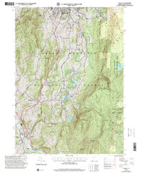 Download a high-resolution, GPS-compatible USGS topo map for Pownal, VT (2000 edition)