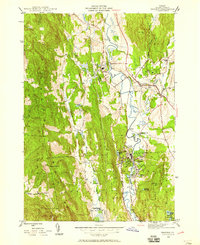 Download a high-resolution, GPS-compatible USGS topo map for Proctor, VT (1958 edition)