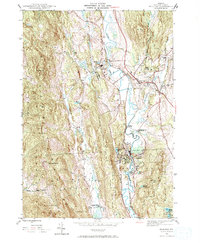 Download a high-resolution, GPS-compatible USGS topo map for Proctor, VT (1972 edition)