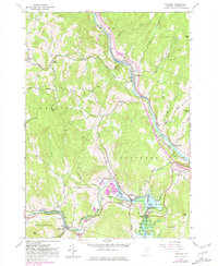 Download a high-resolution, GPS-compatible USGS topo map for Quechee, VT (1981 edition)