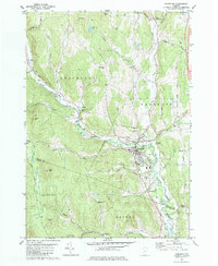 Download a high-resolution, GPS-compatible USGS topo map for Randolph, VT (1981 edition)