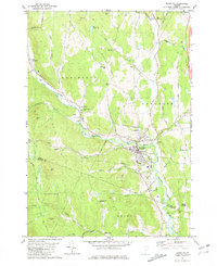 Download a high-resolution, GPS-compatible USGS topo map for Randolph, VT (1982 edition)