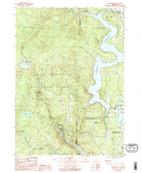 Download a high-resolution, GPS-compatible USGS topo map for Readsboro, VT (1987 edition)