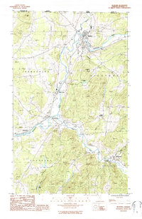 Download a high-resolution, GPS-compatible USGS topo map for Richford, VT (1987 edition)