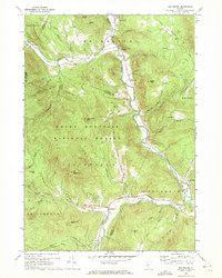 Download a high-resolution, GPS-compatible USGS topo map for Rochester, VT (1972 edition)