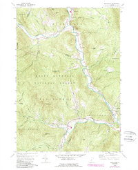 Download a high-resolution, GPS-compatible USGS topo map for Rochester, VT (1988 edition)