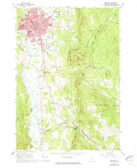 Download a high-resolution, GPS-compatible USGS topo map for Rutland, VT (1973 edition)