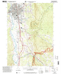 Download a high-resolution, GPS-compatible USGS topo map for Rutland, VT (2000 edition)