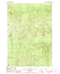 Download a high-resolution, GPS-compatible USGS topo map for Seneca Mountain, VT (1988 edition)