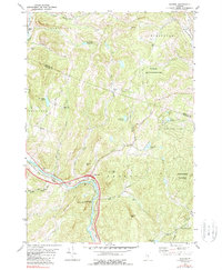 Download a high-resolution, GPS-compatible USGS topo map for Sharon, VT (1989 edition)