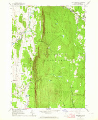 Download a high-resolution, GPS-compatible USGS topo map for South Mountain, VT (1964 edition)