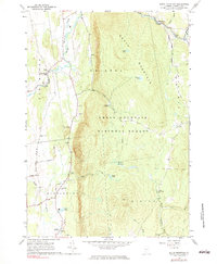 Download a high-resolution, GPS-compatible USGS topo map for South Mountain, VT (1983 edition)