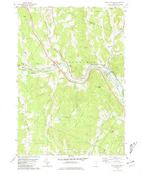 Download a high-resolution, GPS-compatible USGS topo map for South Royalton, VT (1981 edition)