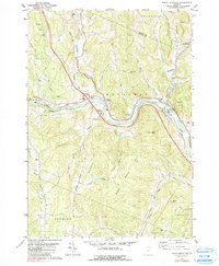 Download a high-resolution, GPS-compatible USGS topo map for South Royalton, VT (1990 edition)
