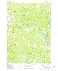 Download a high-resolution, GPS-compatible USGS topo map for South Strafford, VT (1981 edition)