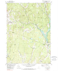 Download a high-resolution, GPS-compatible USGS topo map for South Strafford, VT (1989 edition)