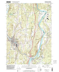 Download a high-resolution, GPS-compatible USGS topo map for Springfield, VT (2002 edition)