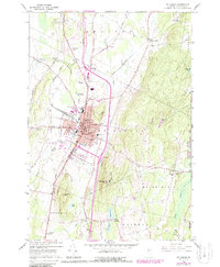 Download a high-resolution, GPS-compatible USGS topo map for St Albans, VT (1987 edition)