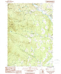 Download a high-resolution, GPS-compatible USGS topo map for Sterling Mountain, VT (1987 edition)