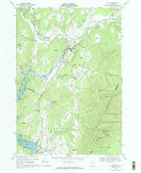 Download a high-resolution, GPS-compatible USGS topo map for Stowe, VT (1972 edition)