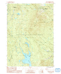 Download a high-resolution, GPS-compatible USGS topo map for Stratton Mtn, VT (1991 edition)