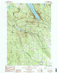 Download a high-resolution, GPS-compatible USGS topo map for Sutton, VT (1987 edition)