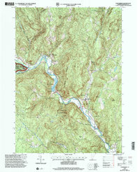 Download a high-resolution, GPS-compatible USGS topo map for Townshend, VT (2000 edition)