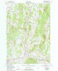 Download a high-resolution, GPS-compatible USGS topo map for Underhill, VT (1990 edition)