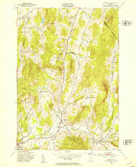 Download a high-resolution, GPS-compatible USGS topo map for Underhill, VT (1953 edition)