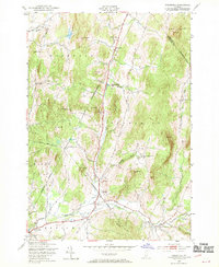 Download a high-resolution, GPS-compatible USGS topo map for Underhill, VT (1970 edition)