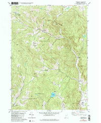 Download a high-resolution, GPS-compatible USGS topo map for Vershire, VT (1991 edition)