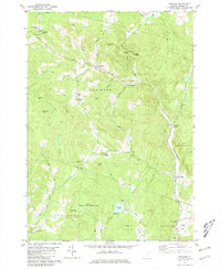 Download a high-resolution, GPS-compatible USGS topo map for Vershire, VT (1981 edition)