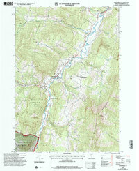 Download a high-resolution, GPS-compatible USGS topo map for Waitsfield, VT (2000 edition)
