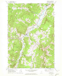 Download a high-resolution, GPS-compatible USGS topo map for Waitsfield, VT (1972 edition)