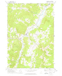 Download a high-resolution, GPS-compatible USGS topo map for Waitsfield, VT (1978 edition)
