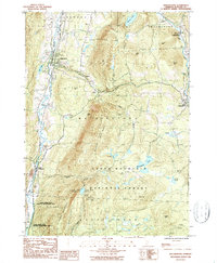 Download a high-resolution, GPS-compatible USGS topo map for Wallingford, VT (1987 edition)