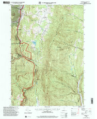 Download a high-resolution, GPS-compatible USGS topo map for Warren, VT (2000 edition)